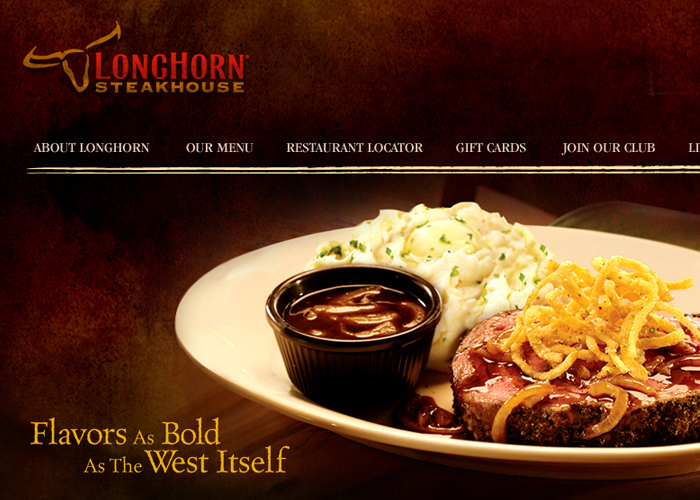 Steakhouse Web Design